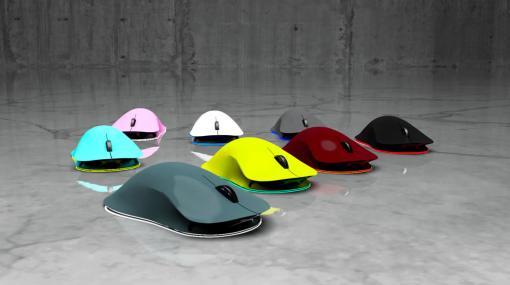 自分の手形から作るオーダーメイドのゲーマー向けワイヤレスマウスが登場。クラウドファンディングも実施中