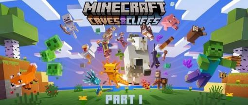 『マインクラフト』大型アップデート「CAVES & CLIFFS」第1弾が日本時間6月9日に配信!ヤギや光るイカが登場