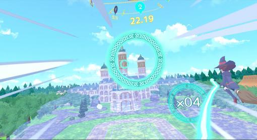 VRレースゲーム『リトルウィッチアカデミアVR ほうき星に願いを』のPSVR、Oculus Rift、SteamVR版が7月16日に発売決定