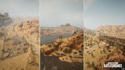 PC版「PUBG」でマップ「Miramar」の大規模アップデートが実施!武器スキンのアップグレードシステムも追加