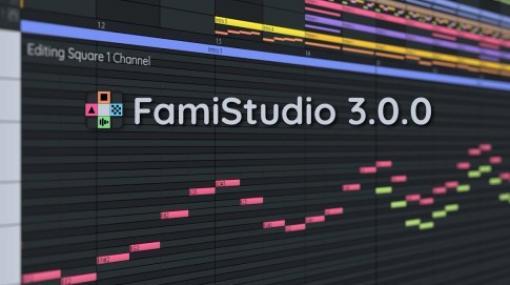 FamiStudio 3.0.0 - NES(ファミコン)風レトロサウンド制作に特化した無料&オープンソースのミュージックエディタ!より編集しやすく進化した新バージョン!Win&Mac&Linux!