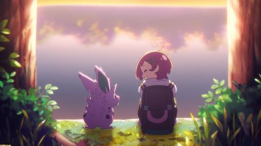 """ポケモンアニメ『ユメノツボミ』が""""ポケモン Kids TV""""にて本日より公開。温かな絵柄でキャラクターがかわいらしく動く"""