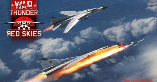 「War Thunder」大型アップデート「レッドスカイズ」が実施!ソ連の航空機「Yak-27B」やロシアの戦車「T-80BVM」などを追加