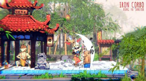 『スマブラ』+『悪魔城ドラキュラ』なアクションアドベンチャー『Iron Corbo: Kung Fu Janitor』日本国内向けに発表。Xbox One/Xbox Series X|S/Windows向けに開発中