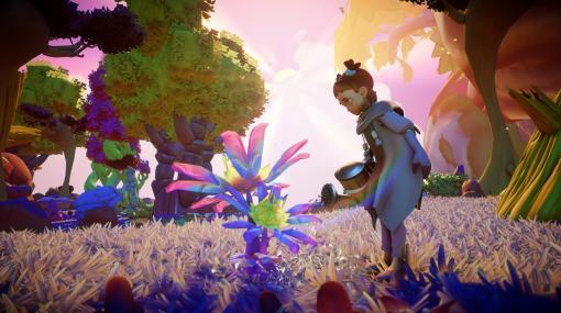 ワールドクラフトゲーム「Grow: Song of the Evertree」が2021年内にリリース。荒廃した大地に生命を取り戻し,自分だけの世界を作る