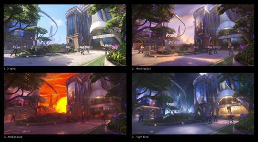 """「オーバーウォッチ 2」では一つのマップを異なる雰囲気で楽しめる。Blizzardが""""2""""のための新技術""""Environment States""""を紹介"""