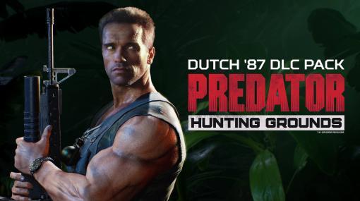 映画『プレデター』の非対称対戦ゲーム『Predator: Hunting Grounds』がPC向けに発売開始。筋肉全盛期のシュワちゃん演じる「ダッチ」DLCも購入可、肉密度1000%の戦いが楽しめる