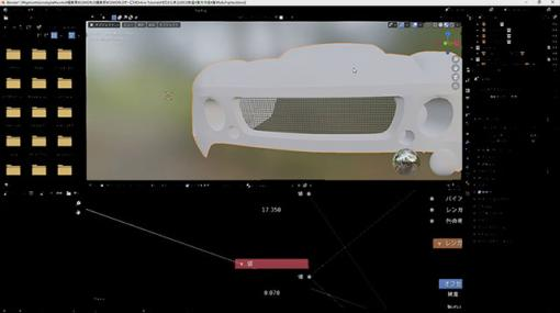 [お知らせ]第71回:クルマモデリング(24)~ディティールアップ(4)~が配信開始(BlenderでCGをはじめよう!ゼロから学ぶ3DCG教室) - ニュース