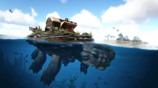 恐竜サバイバル『ARK: Ultimate Survivor Edition』PS4向けDL版が6月17日、パッケージ版が7月29日に発売へ。ゲーム本編に全DLCを同梱
