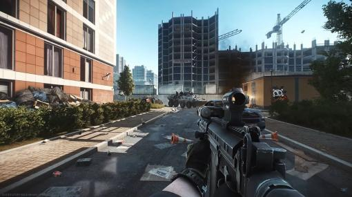 『Escape from Tarkov』新マップ「Streets of Tarkov」紹介映像が公開。マップの破壊表現が追加され装甲車に乗った集団も登場