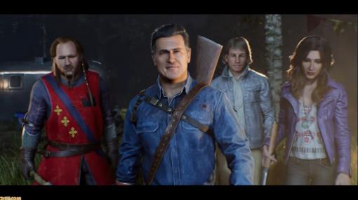 『死霊のはらわた』のゲーム化作品『Evil Dead: The Game』のプレイ映像が公開。ナレーションはアッシュを演じたブルース・キャンベル氏【E3 2021】