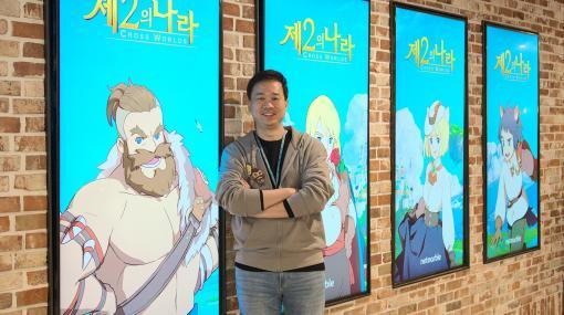 スマホ用RPG「二ノ国:Cross Worlds」開発者インタビューパク氏「コアとなるコンテンツはソーシャル要素の『キングダム』」