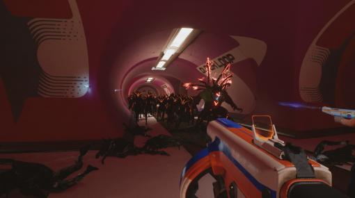 無数のエイリアンと戦う4人協力型FPS『The Anacrusis』発表。『Left 4 Dead』の脚本家がゲーム開発参加する、レトロフューチャーな世界を舞台にしたコメディタッチの作品