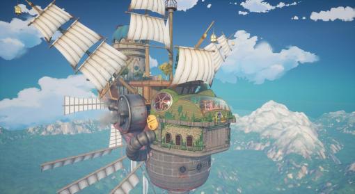 『Stardew Valley』から影響受ける、ほのぼの飛行船ライフシム『Sally』発表。子どもたちと一緒に空の旅を運営