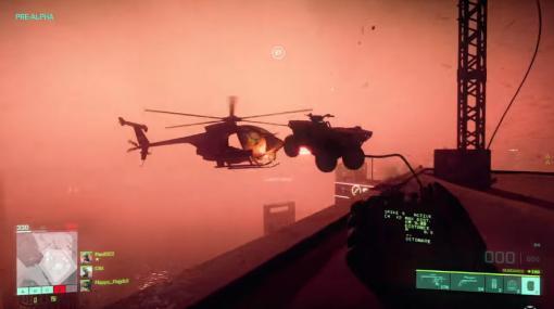[E3 2021]「Battlefield 2042」新規ゲームプレイ動画が公開。車でだってヘリくらいは撃墜できる