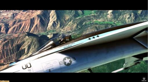 『マイクロソフト フライトシミュレーター』XSX|S版が7月27日に発売決定。映画『トップガン マーヴェリック』とのコラボも2021年に展開【E3 2021】
