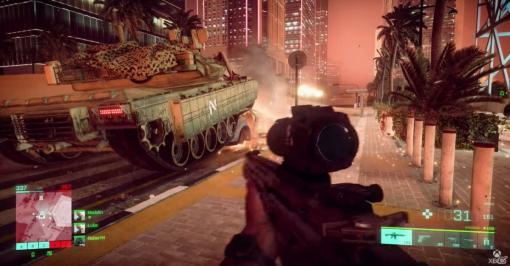 「バトルフィールド 2042」のゲームプレイ映像が公開!目まぐるしく変化する大規模戦闘の様子をチェック【E3 2021】