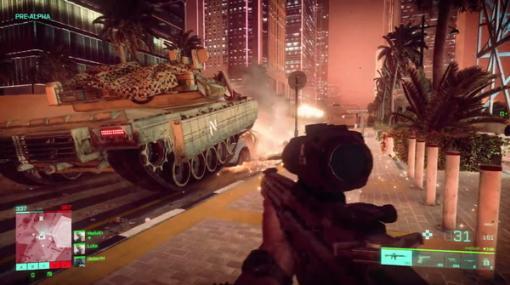 シリーズ最新作『バトルフィールド 2042』のゲームプレイトレイラーがお披露目!戦闘機、ヘリ、戦車、ロケット、ウィングスーツなど盛りだくさん【E3 2021】