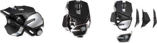 Mad Catz,低遅延の独自スイッチを採用したゲーマー向けマウスを発売。ワイヤレスとワイヤードモデルをラインナップ