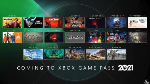 「Xbox Game Pass」今後のラインナップが公開!「龍が如く7 光と闇の行方 インターナショナル」が配信開始【E3 2021】