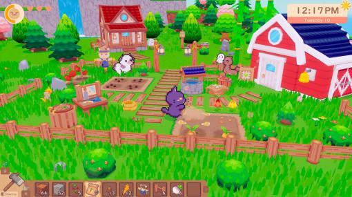 かわいい動物たちと暮らすスローライフゲーム『Snacko』2022年にNintendo SwitchとPCで発売へ。2.5Dで描かれる呪われた島の秘密を解き明かしながらのんびり暮らそう