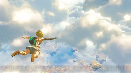 舞台は空へ。『ゼルダの伝説 ブレス オブ ザ ワイルド』最新映像公開【E3 2021】