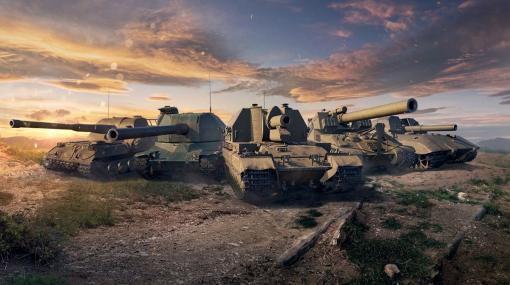 『World of Tanks』大型アップデート1.13配信開始。HE弾刷新、自走砲にまつわる新パークや新システムも