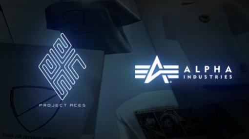 「エースコンバット」とアルファ インダストリーズの第3弾コラボTシャツが6月25日に発売