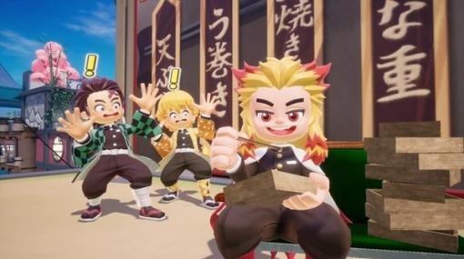 『ニンジャラ』が「鬼滅の刃」とコラボ決定!7月20日より「煉獄杏寿郎」「胡蝶しのぶ」らに扮せるコーデや、日輪刀のガムウェポンも
