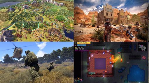 """時間で割れば1本数円、今夏のセールは""""コスパ""""で選べ!『Streets of Rogue』『Sid Meier's Civilization® VI』『theHunter: Call of the Wild』『7 days to die』他【Steamサマーセール2021特別企画】"""
