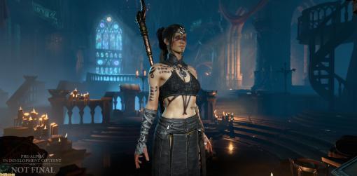 『ディアブロIV』キャラクターのビジュアルまわりの開発情報が公開。登場予定の一部モンスターの姿なども