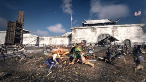 「真・三國無双8 Empires」では戦闘形式が進化し「攻城戦」が主体に!Empiresシリーズおなじみの政略システムも紹介