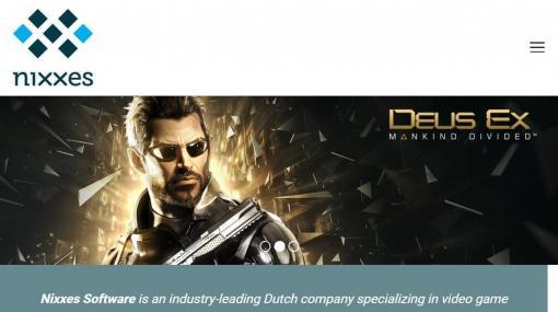 SIEがオランダの企業「ニクセス・ソフトウェア」の買収を発表。『トゥームレイダー』シリーズや『デウスエクス』などの移植に携わってきたスタジオ