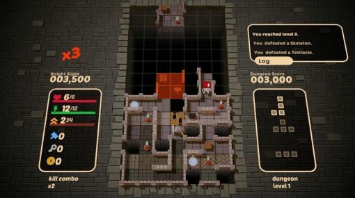 『テトリス』+『ダンジョン探索ローグライク』なゲーム『Blocky Dungeon』がSteamにて今夏リリースへ。現在は体験版を配布中