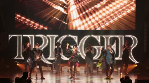 """「アイドリッシュセブン」のライブ,TRIGGER LIVE CROSS """"VALIANT""""の最速レポートが到着"""