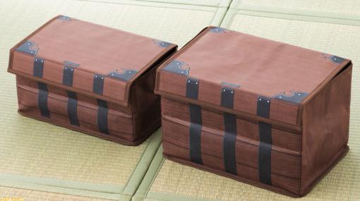 【箱】『鬼滅の刃』炭治郎が禰豆子を入れる箱をモチーフにした収納箱が発売。背負い紐もばっちり再現(※背負えません)