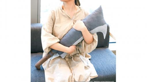 """『ひぐらしのなく頃に』竜宮レナの""""鉈""""がクッションになって登場。抱き枕にぴったりのサイズ感【かぁいい】"""
