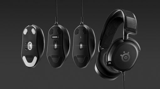 SteelSeries,eスポーツ向けを謳う新製品シリーズ「Prime」のマウスとヘッドセットを国内発売