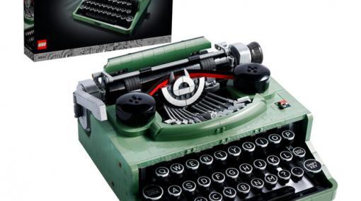 カタカタ音や紙送りギミックも!『レゴ タイプライター』の再現度がすごい