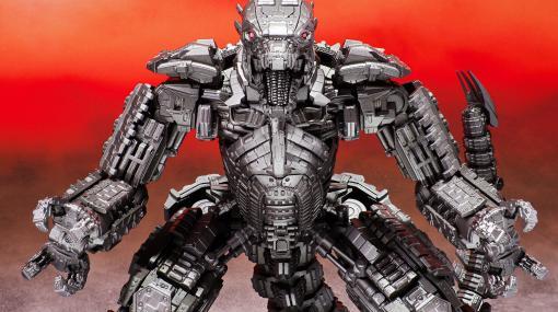 """『ゴジラvsコング』""""メカゴジラ""""のアクションフィギュアが発売。全高約19cmの大迫力サイズ、肩と胸には大砲の可動ギミックが搭載"""