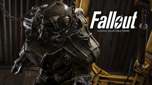 『Fallout』フィギュア「T-60 迷彩・パワーアーマー」が国内流通でも予約開始!全高約36.8cmで、お値段約6万円