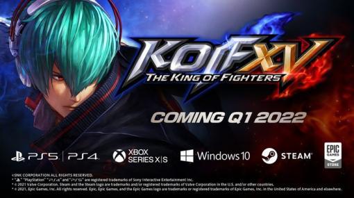【格ゲー】『THE KING OF FIGHTERS XV』発売時期が2022年春に決定!プラットフォームはPS5/PS4/Xbox Series X|S/PCに