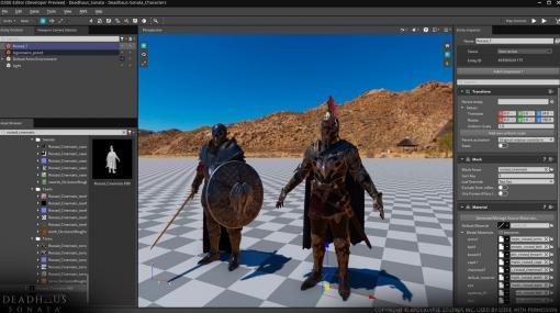 Amazonのゲームエンジン「Lumberyard」がオープンソース化。「Open 3D Engine」として、より自由に生まれ変わる