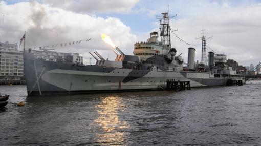 本物の軍艦内で『World of Warships』をプレイできる!イギリスの退役艦とのコラボが発表