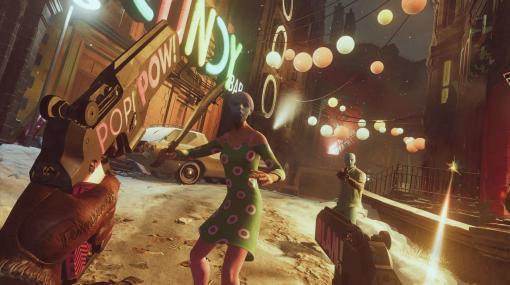 ループ系FPS『Deathloop』の9分にわたるゲームプレイ映像公開。スーパーパワーを使って大立ち回りし、トラップでクレバーに目標を暗殺する楽しい映像に