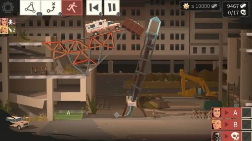 橋を建設する人気の物理演算パズルゲームと『ウォーキング・デッド』のコラボタイトル『Bridge Constructor: The Walking Dead』がEpic Games Storeで無料配布中