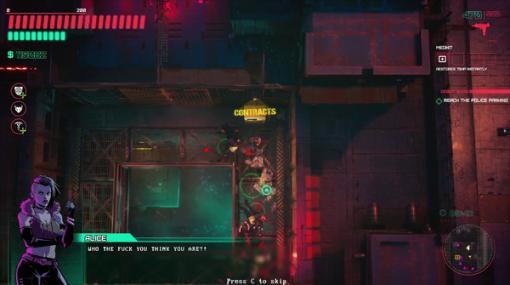 『GTA2』を意識したサイバーパンクACT『Glitchpunk』早期アクセス8月11日開始