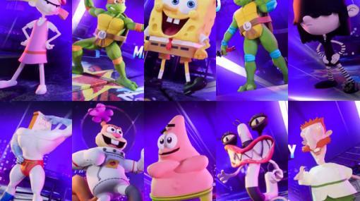 スポンジ・ボブやタートルズが参戦するスマブラ風ACT『Nickelodeon All-Star Brawl』発表!