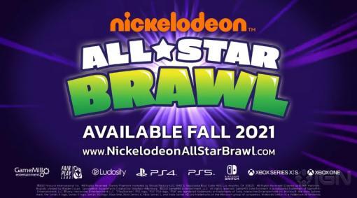 スマブラ風ACT「Nickelodeon All-Star Brawl」の2021年秋リリースが発表。スポンジ・ボブ,タートルズなどのアニメからキャラが参戦
