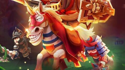 騎士となって邪悪なドラゴンと戦う、放置系RPG『EZ Knight』事前登録開始